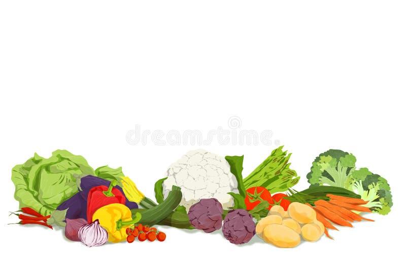 486/5000 ejemplo de las verduras y verduras a utilizar como fondo para el vegano o página web vegetariana o periódico fotos de archivo libres de regalías