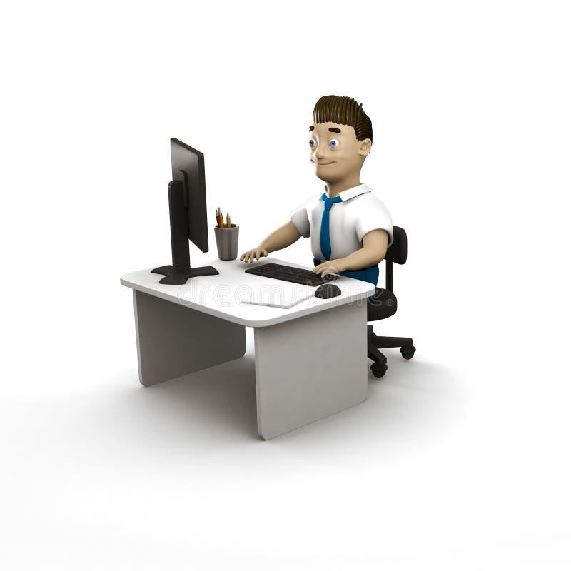 ejemplo de los caracteres 3d libre illustration