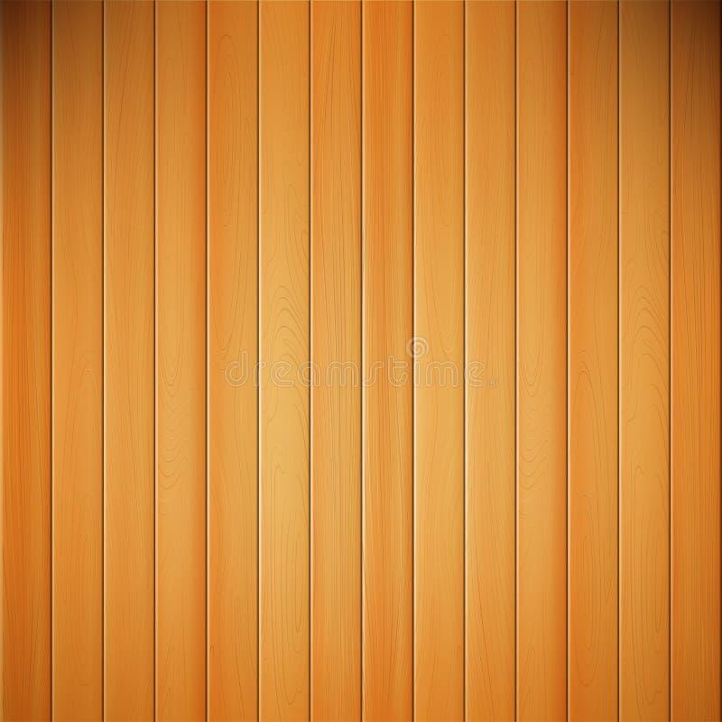 Ejemplo de madera del vector de la naturaleza realista abstracta del fondo stock de ilustración