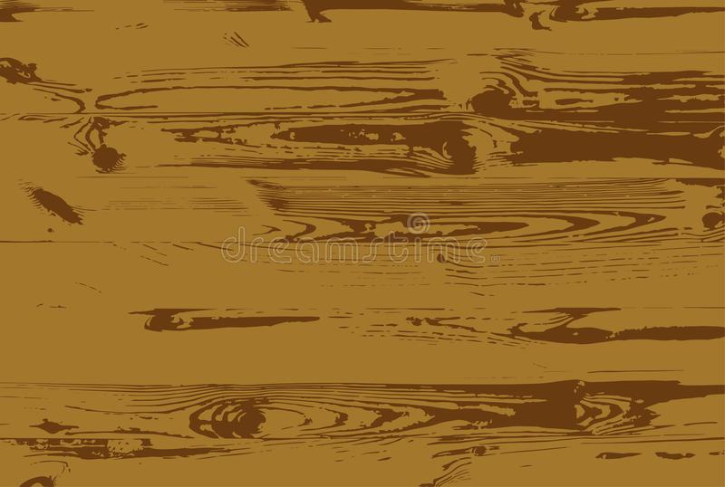 Ejemplo de madera del vector de la textura, fondo de madera del vector libre illustration
