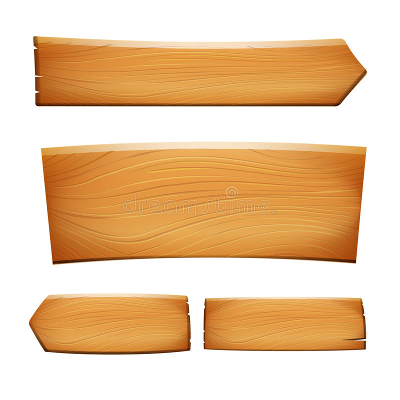 Ejemplo de madera eps10 del vector de la muestra del vintage realista de la naturaleza stock de ilustración