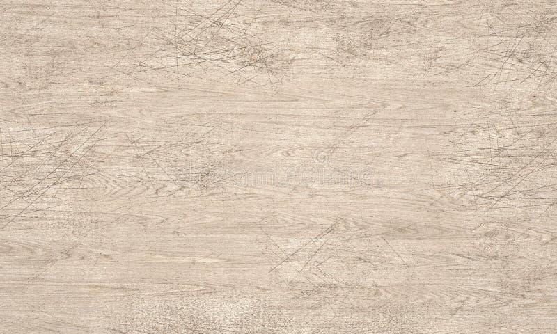 Ejemplo de madera rasguñado de la textura 3D ilustración del vector