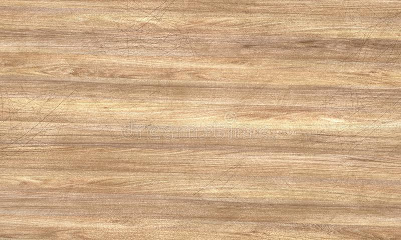 Ejemplo de madera rasguñado de la textura 3D stock de ilustración