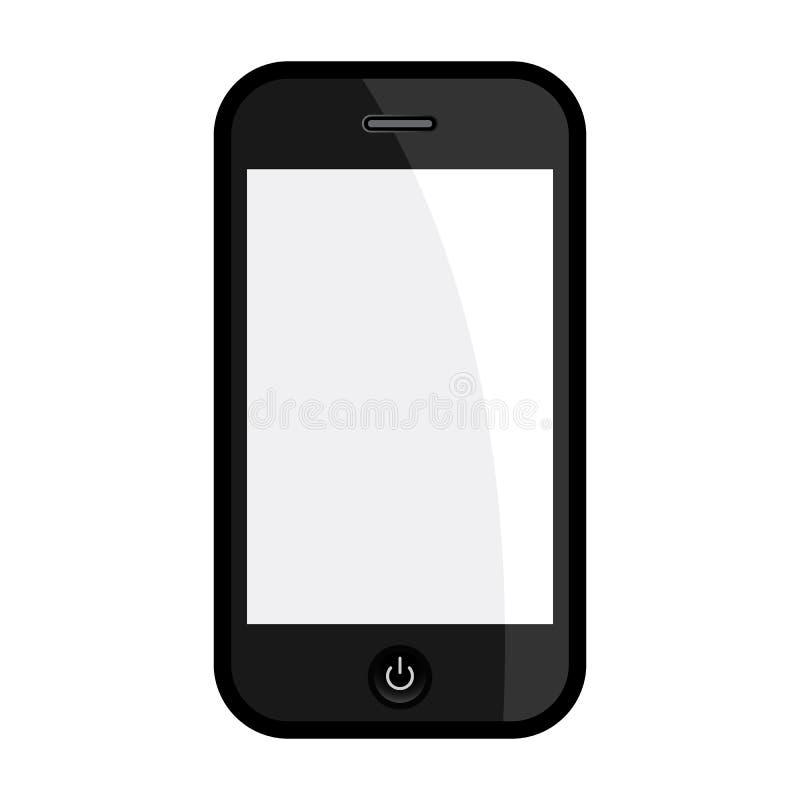 Ejemplo de Smartphone stock de ilustración