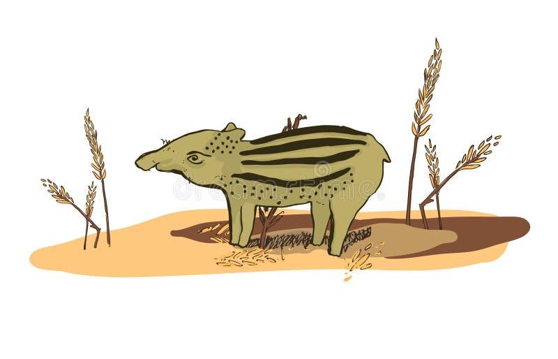 Ejemplo de un tapir foto de archivo