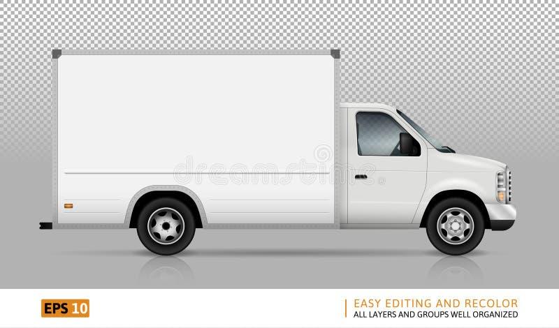 Ejemplo de Van vector stock de ilustración