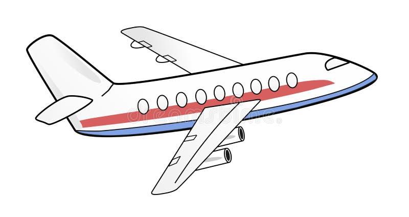 Ejemplo del aeroplano fotos de archivo