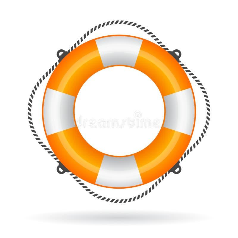 Ejemplo del anillo de vida stock de ilustración