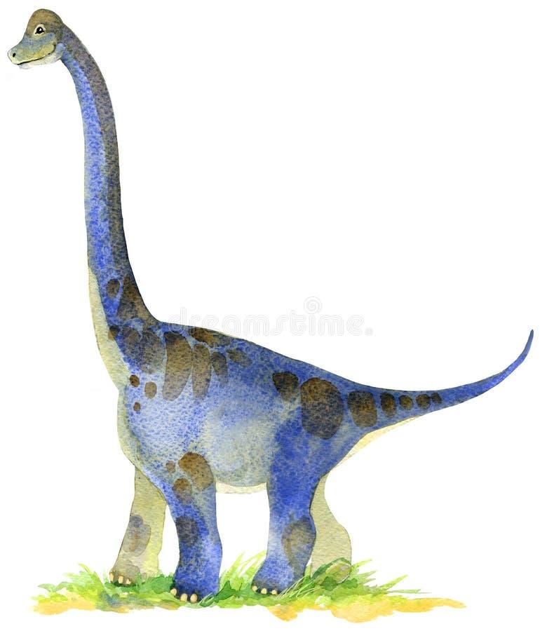 Ejemplo del animal del dinosaurio ilustración del vector