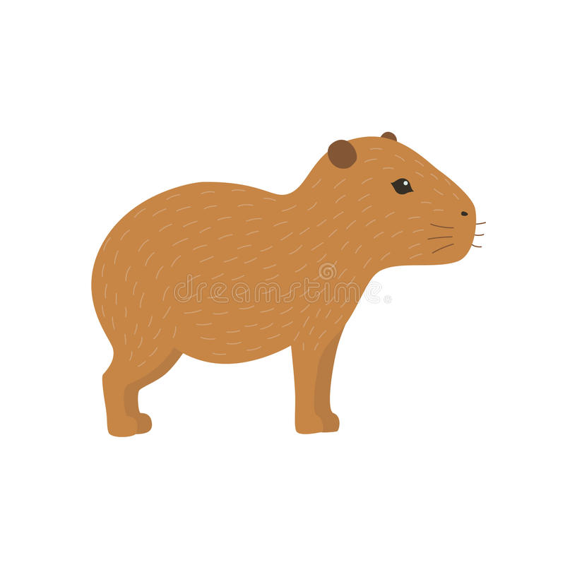 Ejemplo del Capybara libre illustration