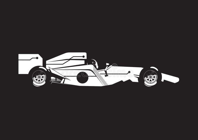 Ejemplo del coche de fórmula libre illustration