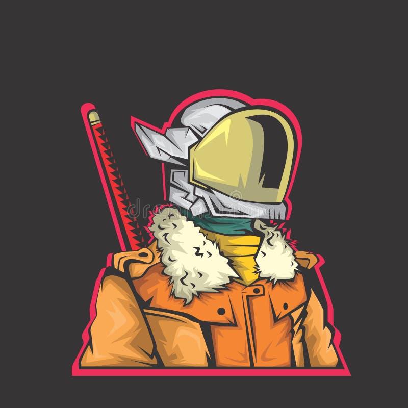 Ejemplo del combatiente del robot libre illustration