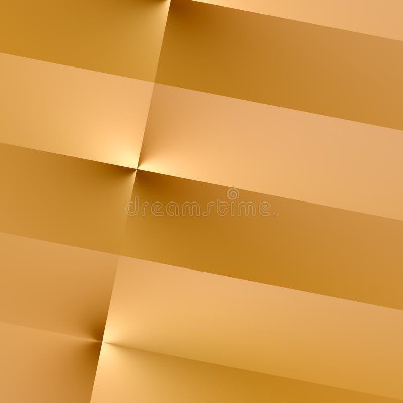 Ejemplo del contexto del papel de Brown Líneas marrones verticales del tono Elemento abstracto del diseño Espacio de la copia del stock de ilustración