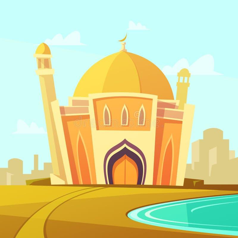 Ejemplo del edificio de la mezquita libre illustration