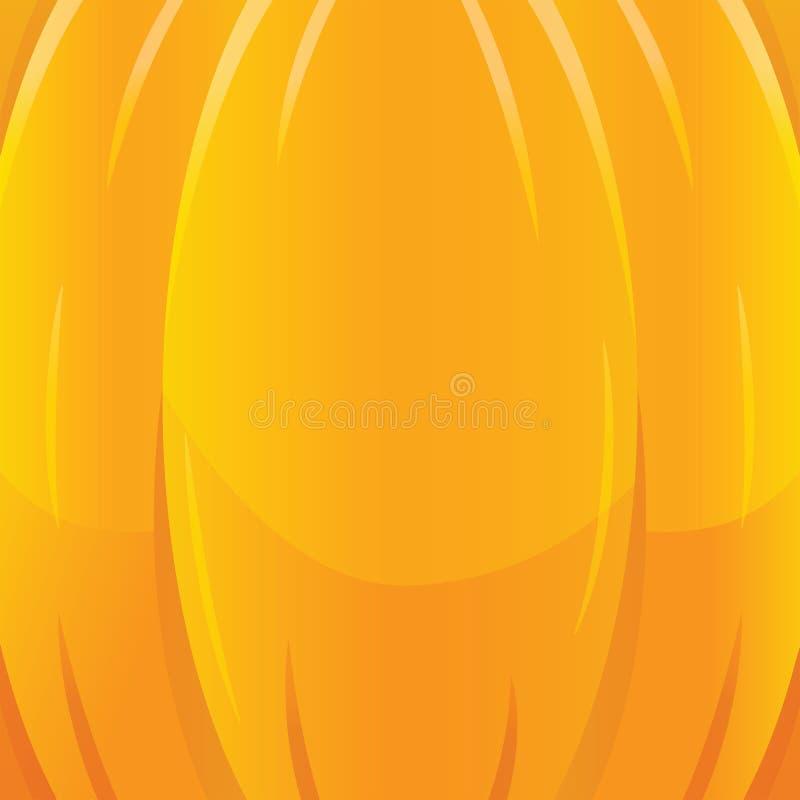Ejemplo del fondo de la textura de la caída del otoño del día de fiesta de Halloween Estilo plano de la historieta ilustración del vector