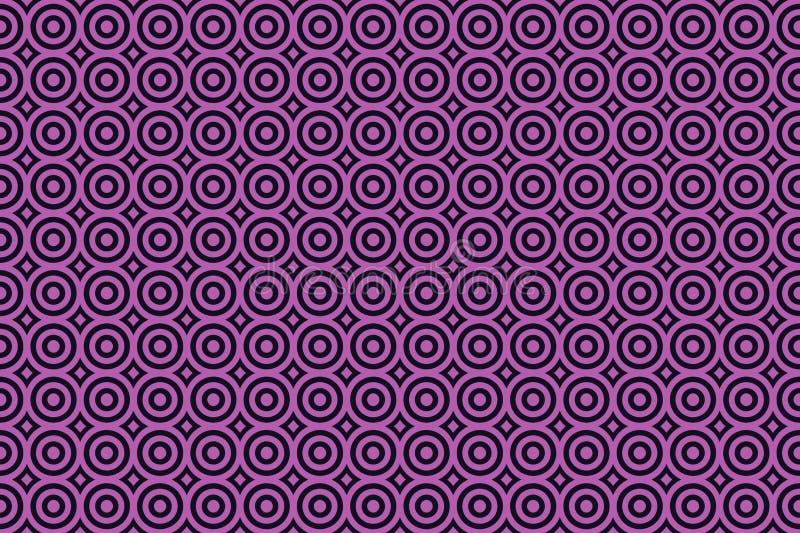 ejemplo del fondo inconsútil del modelo del círculo libre illustration