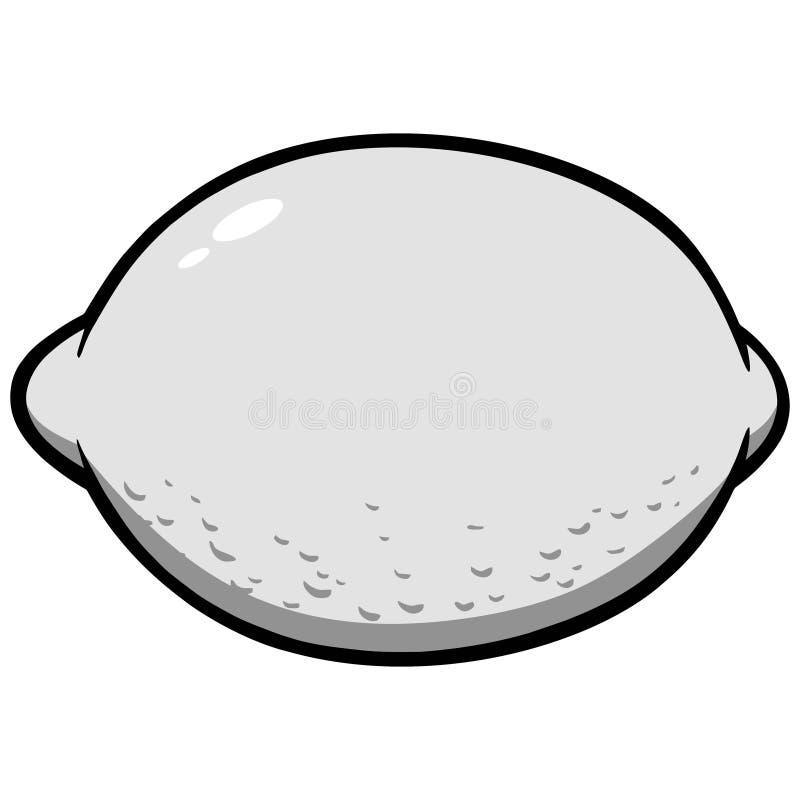 Ejemplo del icono del limón libre illustration