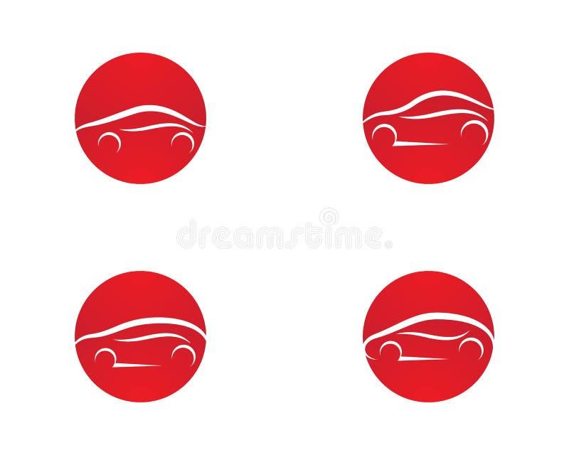 Ejemplo del icono del logotipo del coche libre illustration