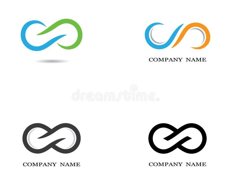 Ejemplo del icono del vector del símbolo del infinito libre illustration
