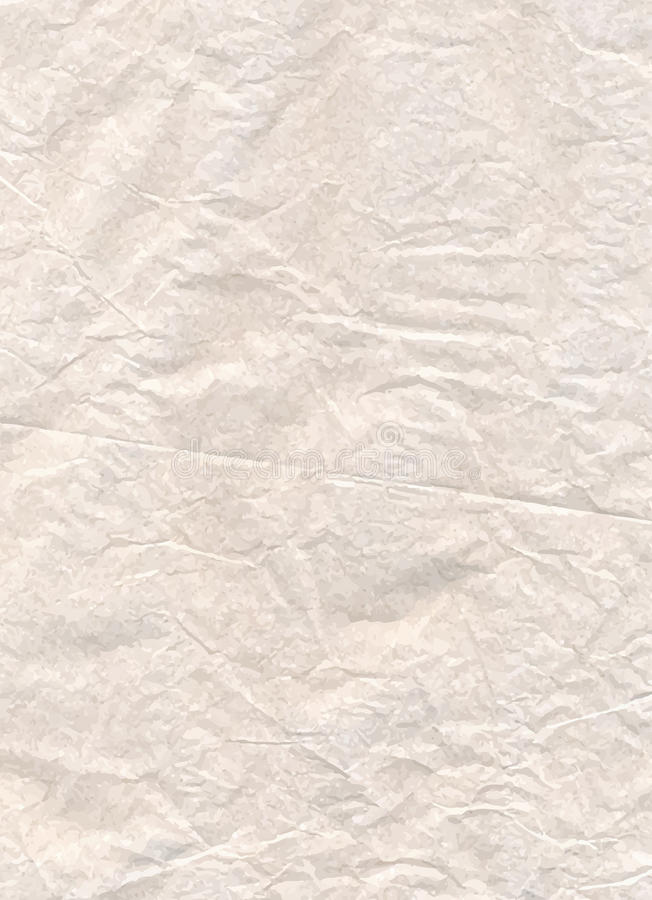Ejemplo del papel de pergamino, textura del vector, eps10 fotos de archivo