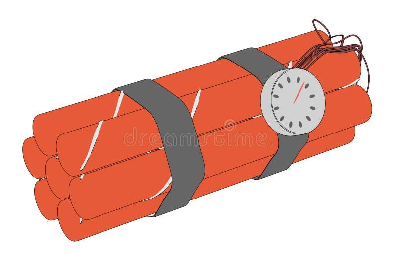 Ejemplo del paquete de la dinamita libre illustration