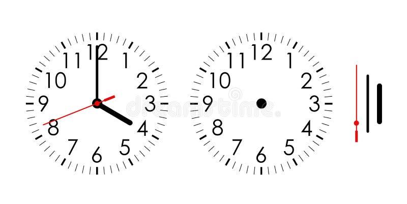Reloj stock de ilustración