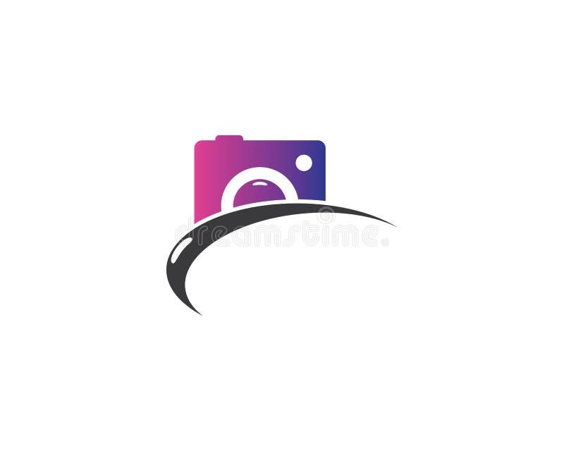 Ejemplo del símbolo de la cámara stock de ilustración