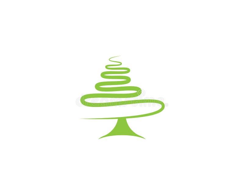 Ejemplo del símbolo del pino libre illustration