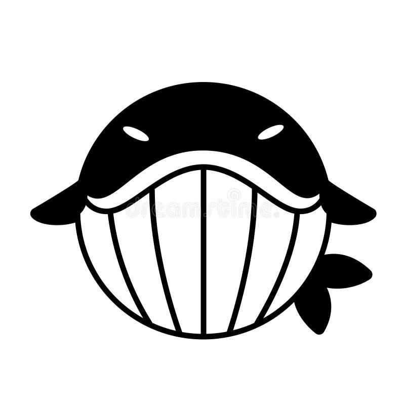 Ejemplo del sólido de la ballena libre illustration