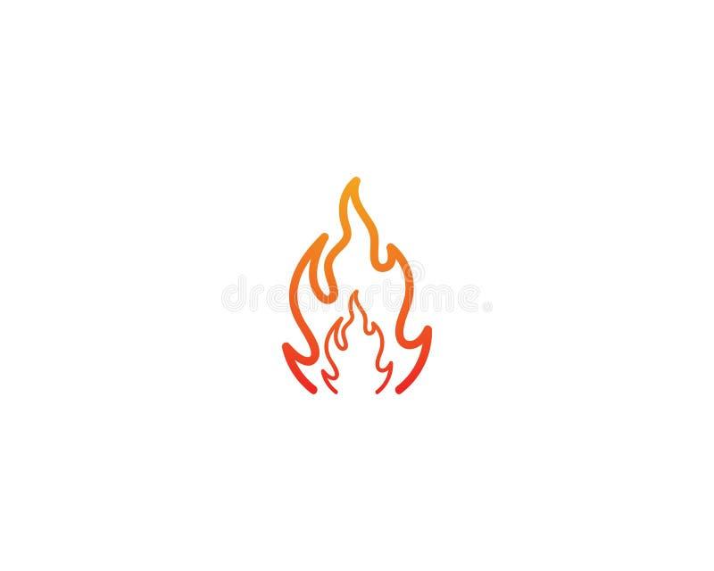 Ejemplo del s?mbolo de fuego libre illustration