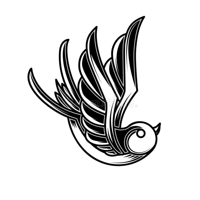 Ejemplo del trago del vintage en el grabado de estilo Elemento del diseño para el cartel, tarjeta, muestra, emblema, camiseta ilustración del vector