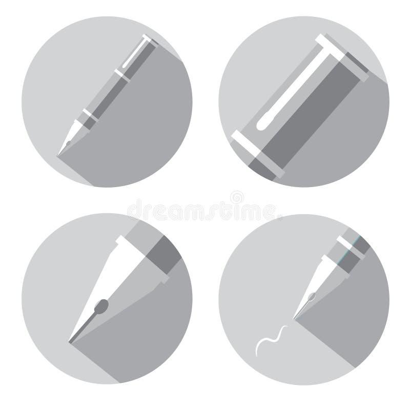 Ejemplo del vector libre illustration