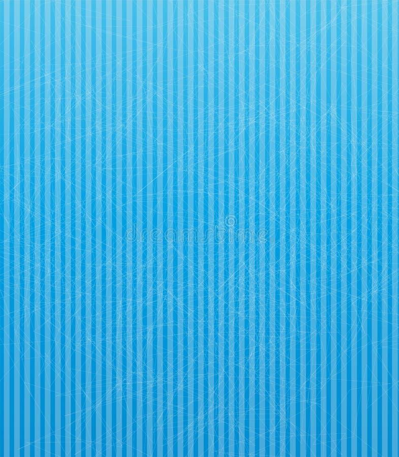 Ejemplo del vector con el fondo abstracto azul. libre illustration