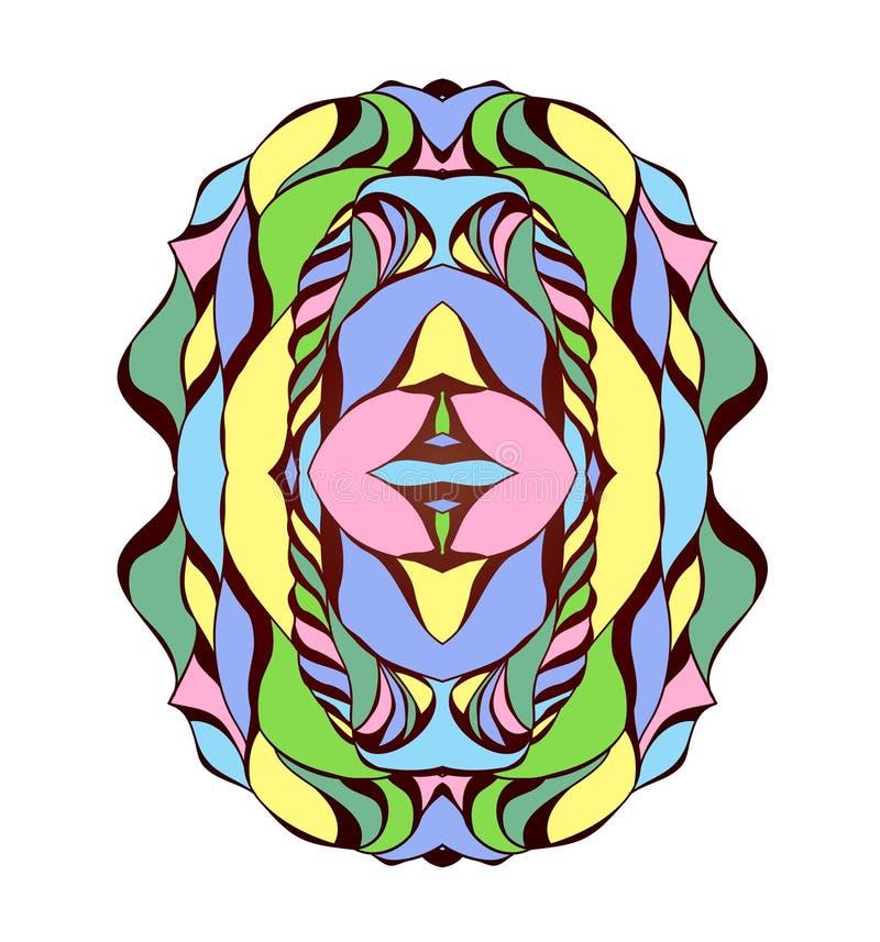 Ejemplo del vector con la abstracción fotografía de archivo