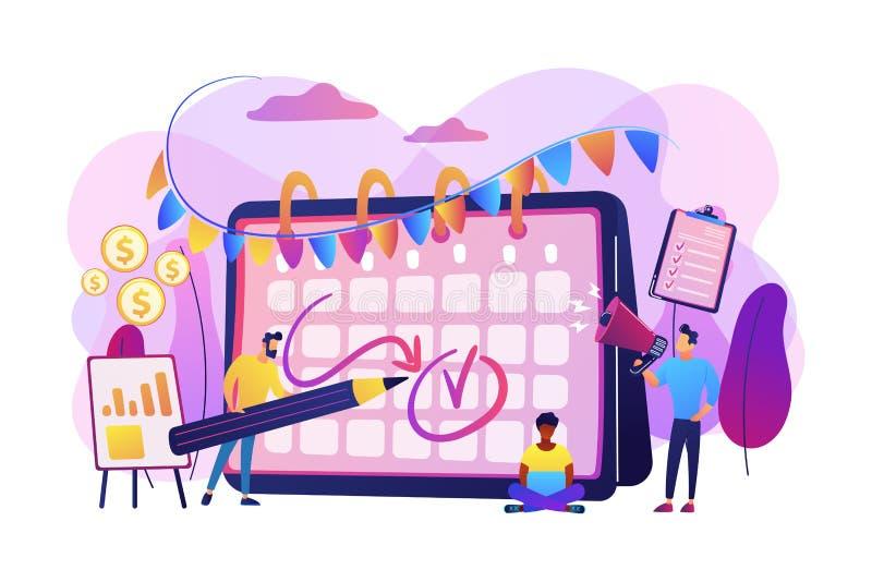 Ejemplo del vector del concepto del acontecimiento de la marca libre illustration