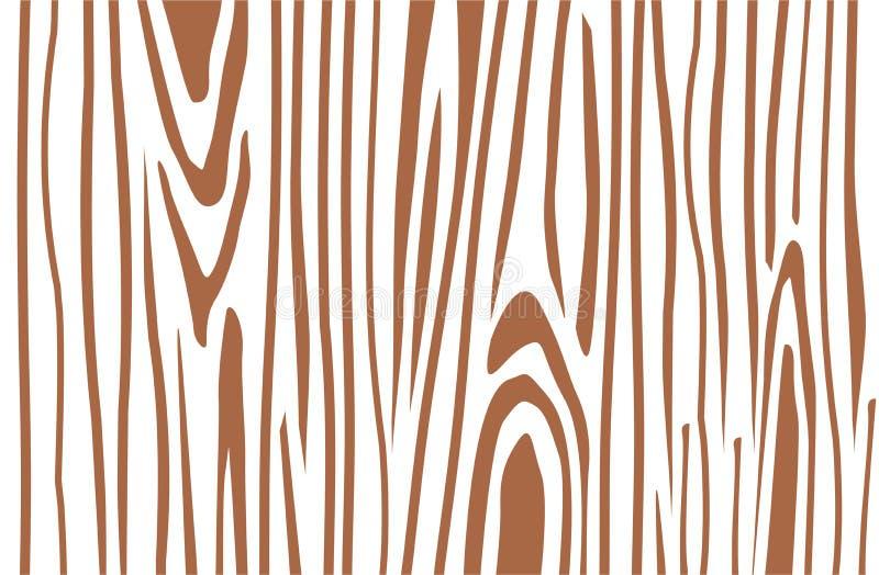 Ejemplo del vector de Brown la rebanada de madera la estructura del th stock de ilustración