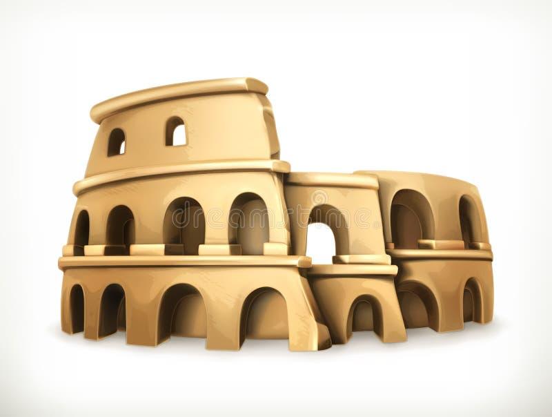 Ejemplo del vector de Colosseum libre illustration