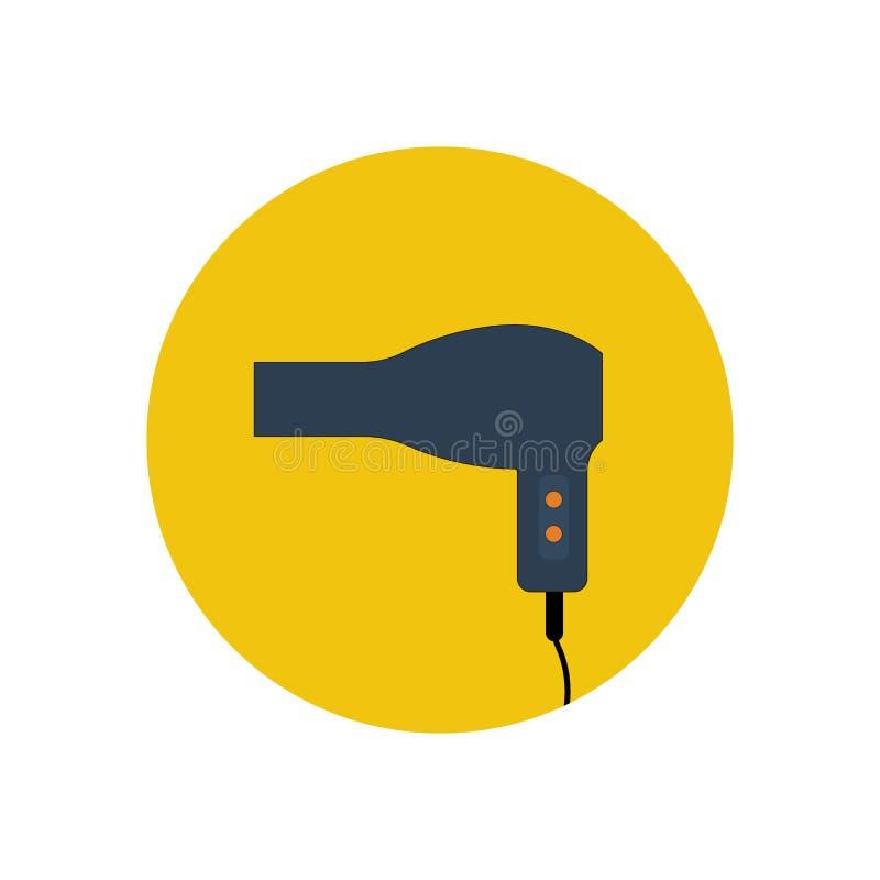 Ejemplo del vector de Hairdryer libre illustration
