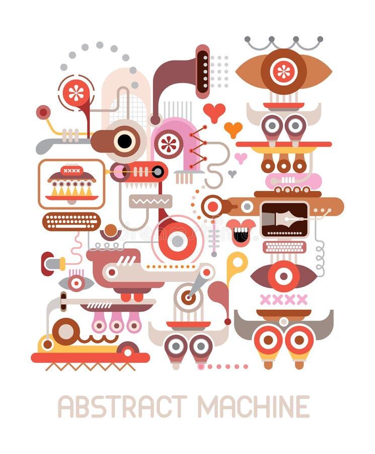 Ejemplo del vector de la máquina abstracta libre illustration