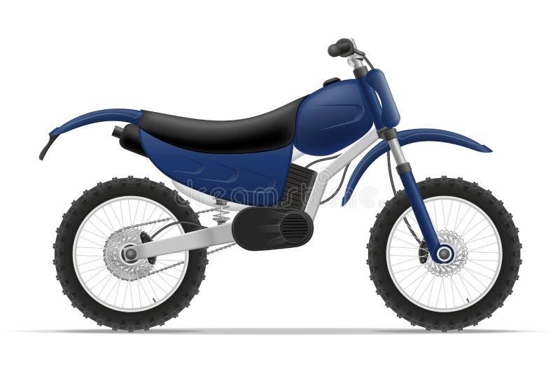 Ejemplo del vector de la motocicleta libre illustration