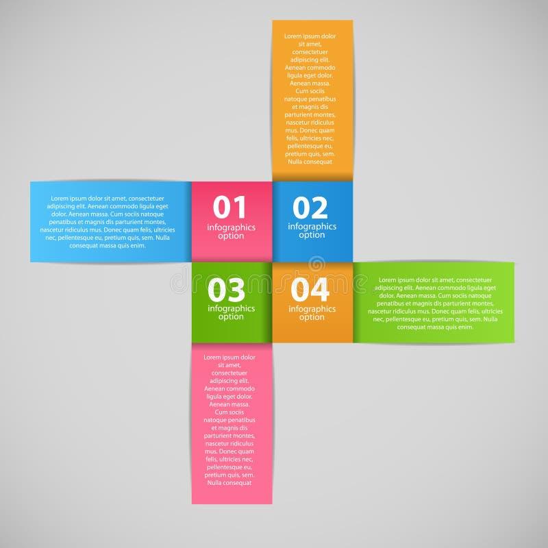 Ejemplo del vector de la plantilla del negocio de Infographic stock de ilustración