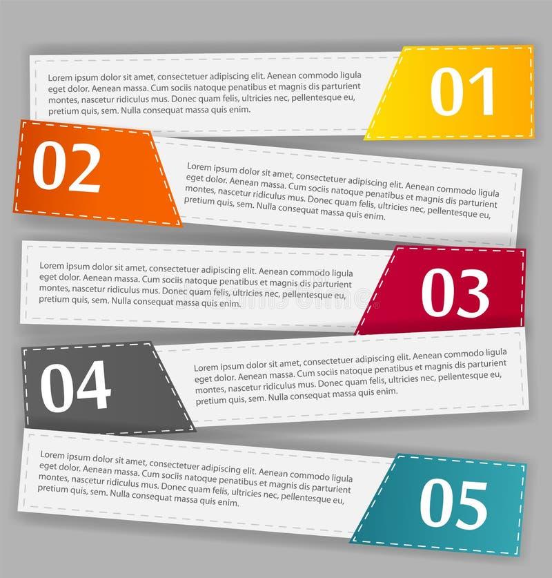 Ejemplo del vector de la plantilla del negocio de Infographic libre illustration
