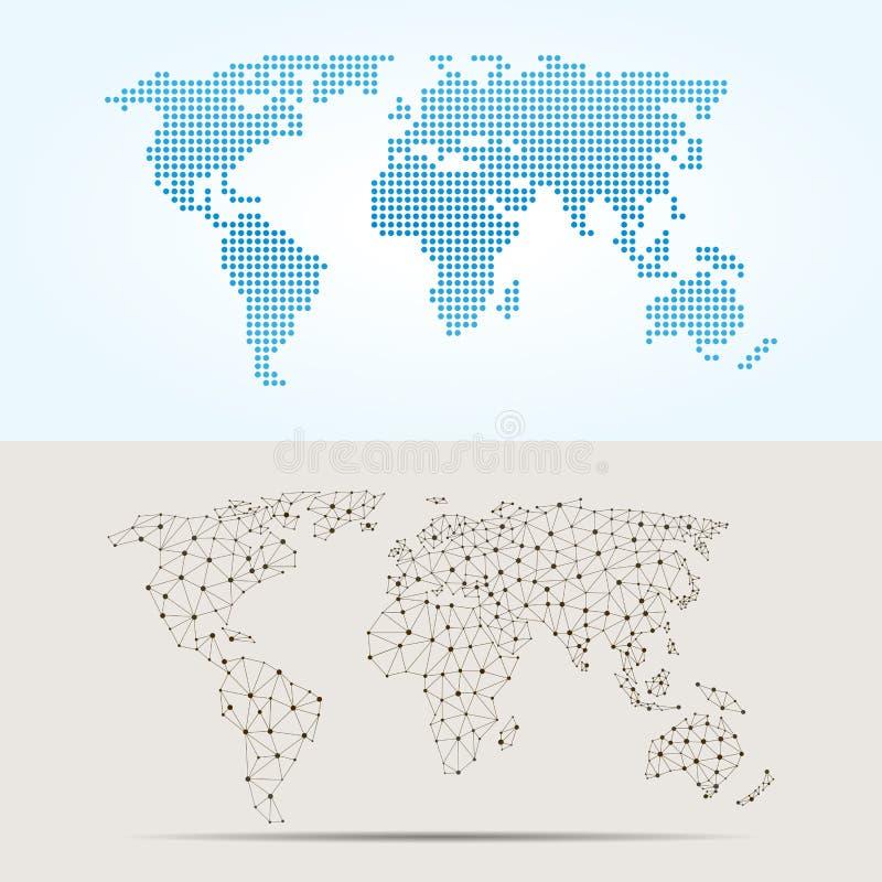 Ejemplo Del Vector De La Textura De La Cartografía Del Trazado De ...
