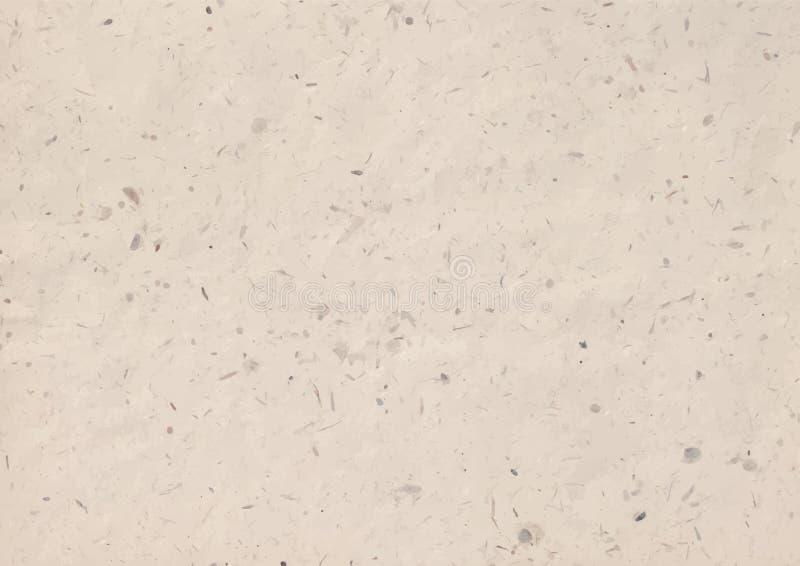 Ejemplo del vector de la textura del papel de Kraft stock de ilustración