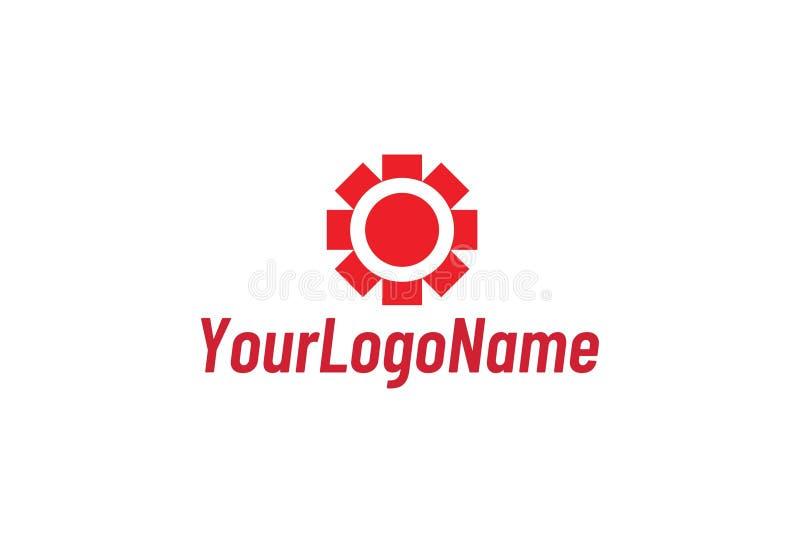 Ejemplo del vector de Logo Design abstracto ilustración del vector