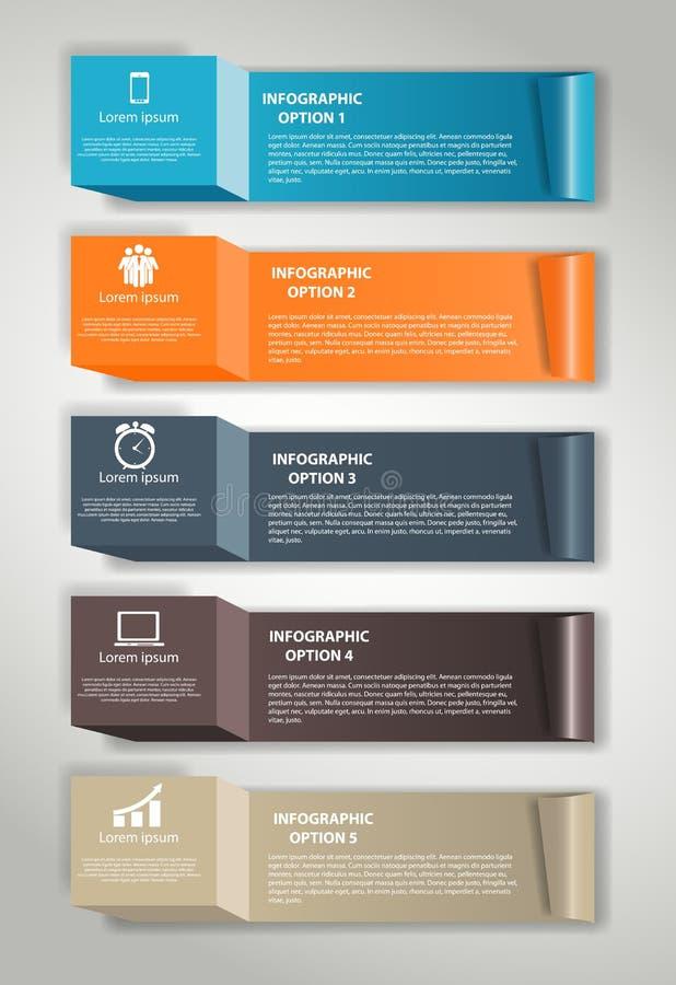 Ejemplo del vector de los elementos del diseño de INFOGRAPHICS libre illustration