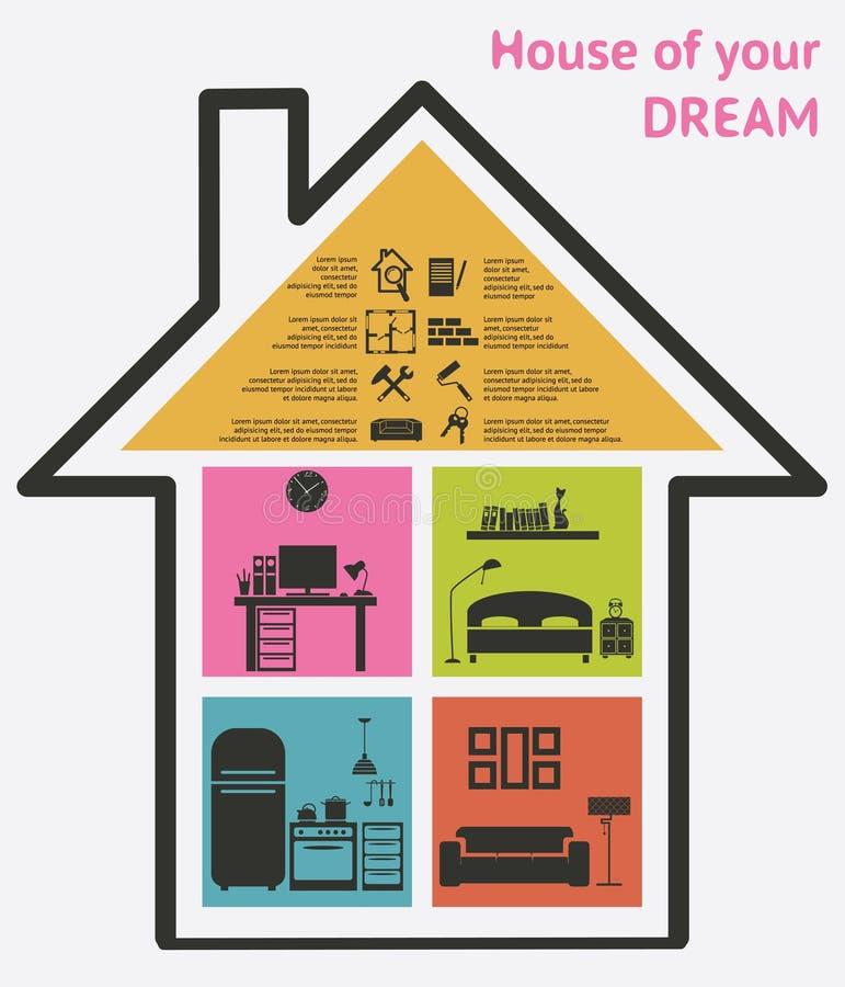 Download Ejemplo Del Vector De Los Iconos De La Casa Y De Las Propiedades Inmobiliarias Ilustración del Vector - Ilustración de casa, clave: 42434875