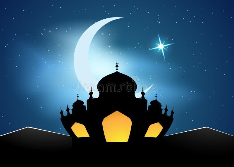 Ejemplo del vector de Ramadan Kareem libre illustration