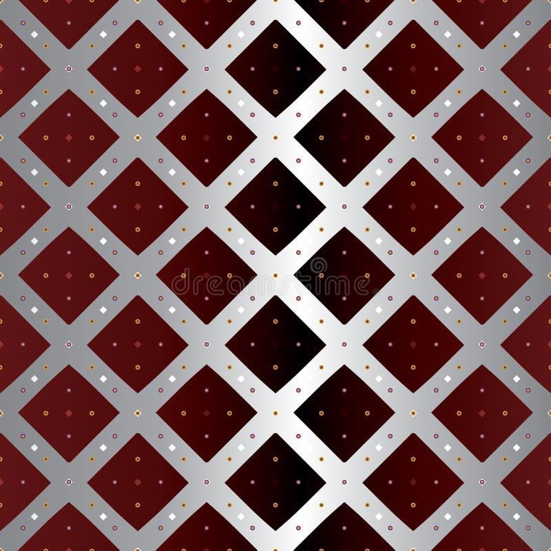 Ejemplo del vector de rectángulos diagonales ilustración del vector