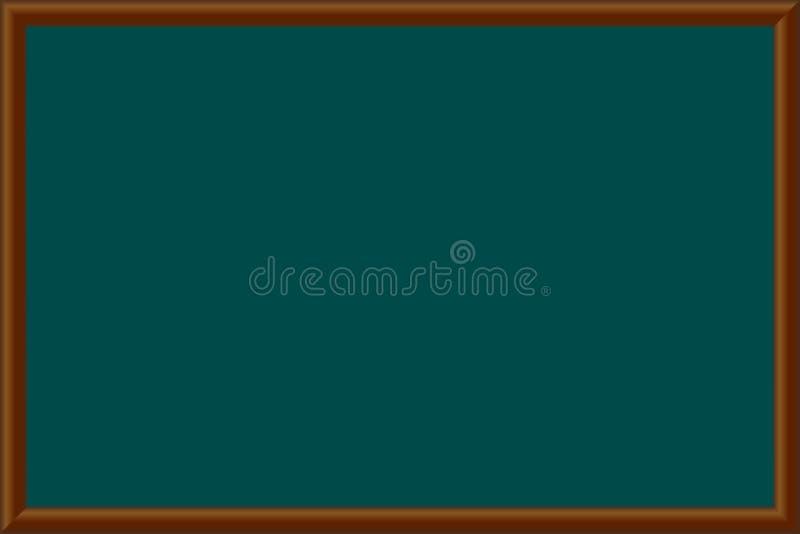 Ejemplo del vector de una pizarra de la escuela EPS 10 ilustración del vector